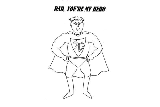 Dad, you're my hero