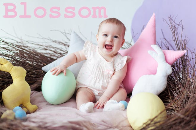 Blossom - Easter baby names