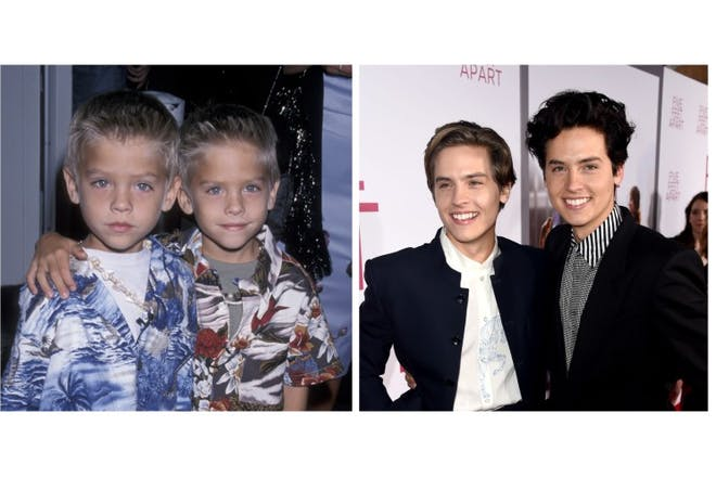 4. Cole and Dylan Sprouse
