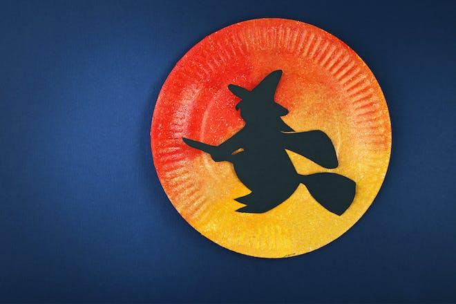 38. Paint a Halloween night