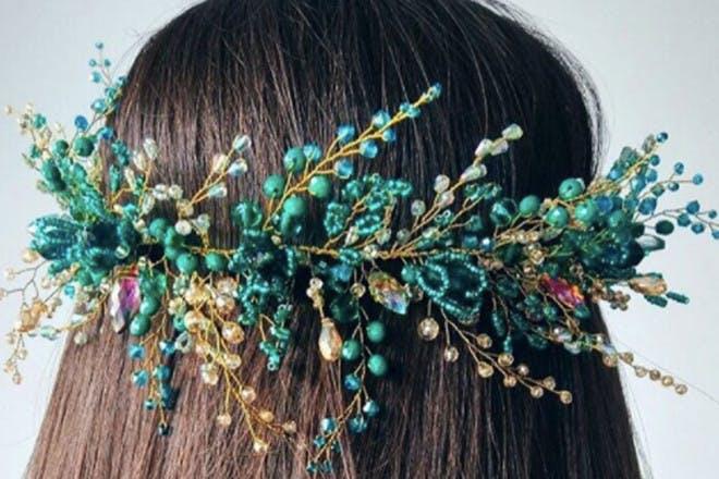 19. Simple floral crown