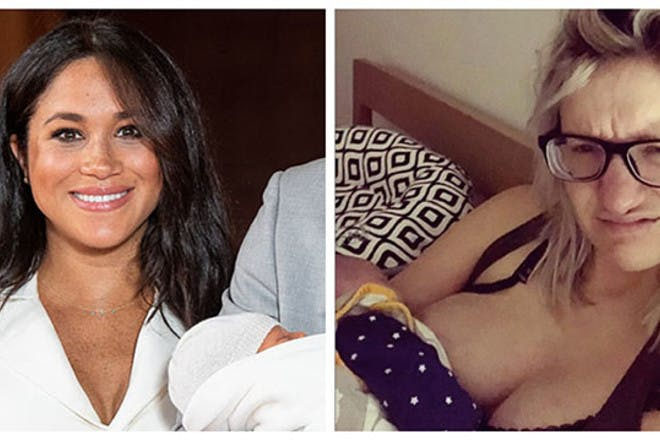 Postpartum reality: famous mums like Meghan vs the rest of us