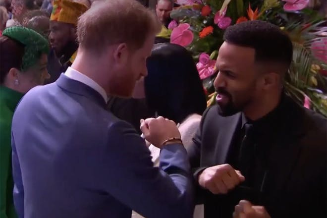 Prince Harry and Craig David coronavirus
