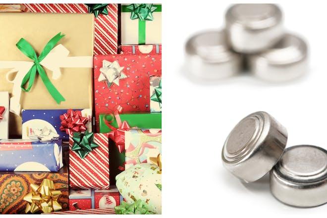 Christmas presents batteries