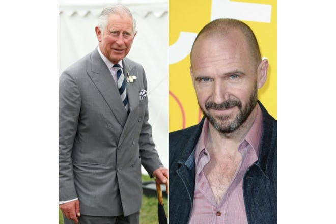 Prince Charles and Ralph Fiennes