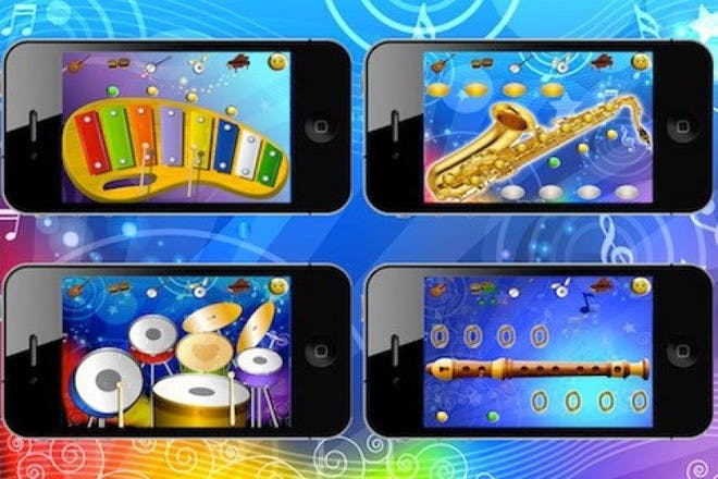 music sparkles app