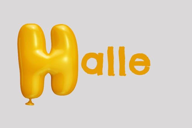 4. Halle