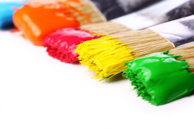 How to make your own jumbo paint brushes