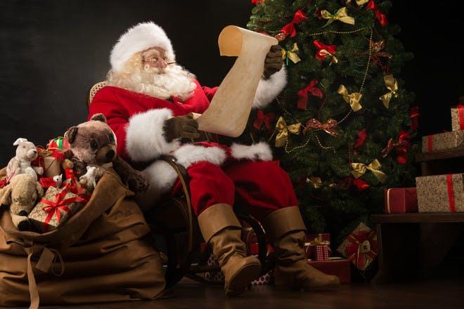 Ask Santa himself
