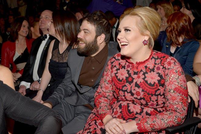 8. Adele and Simon Konecki