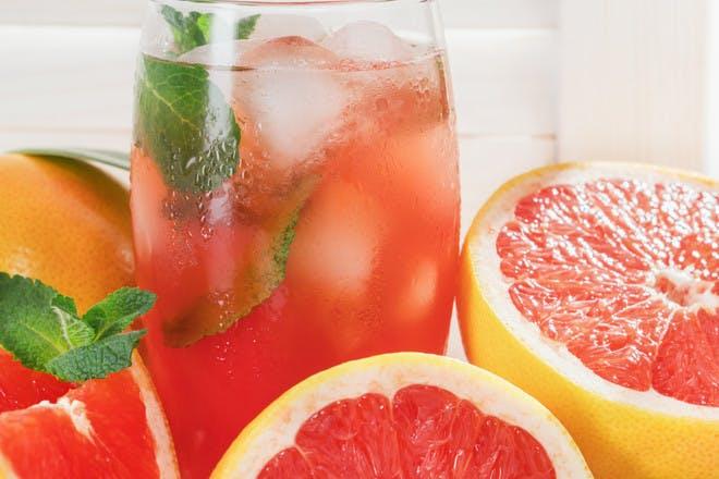 28. Grapefruit Mojito