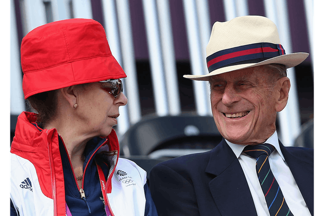 Prince Philip and Anne