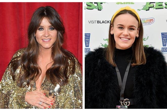 Brooke Vincent and Ellie Leach