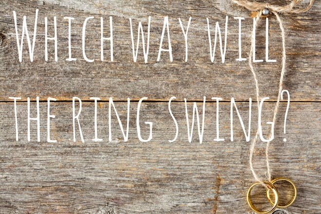 7. Which way will the ring swing?