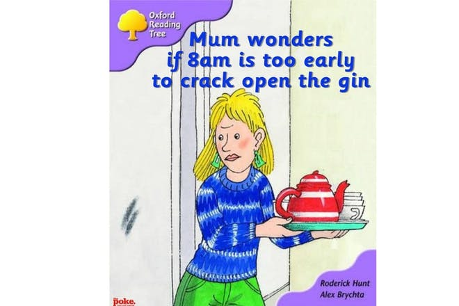 Mum wonders if 8am is too early to crack open the gin
