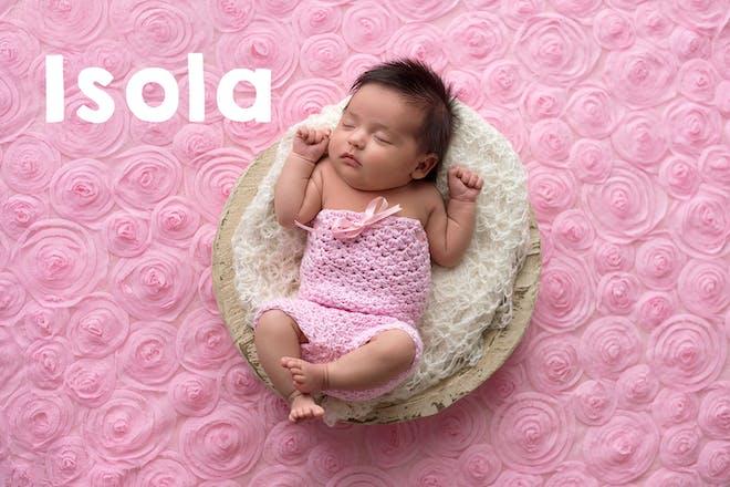 Isola baby name