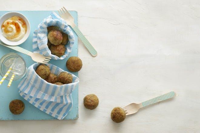 Annabel Karmel's veggie balls, baby-led weaning recipe