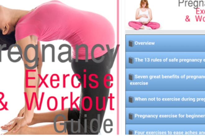 Pregnancy Workout Today app