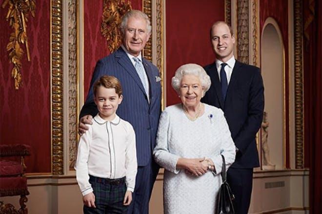 Royal family new year 2020
