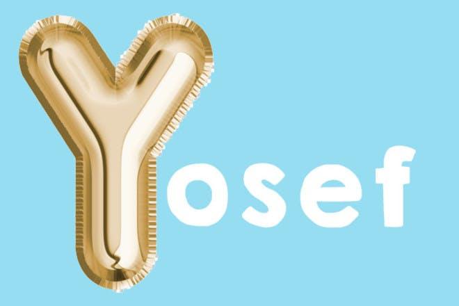 Yosef 'y' name