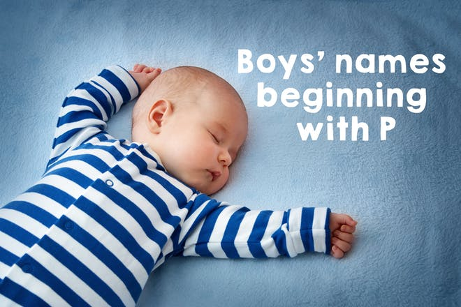 50 boys' names beginning with P