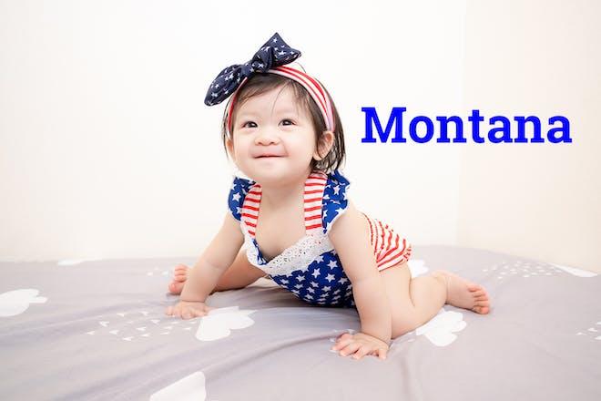 Montana baby name