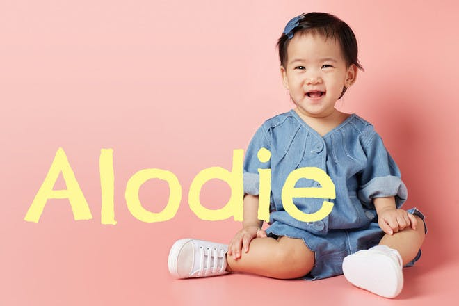 Baby name Alodie