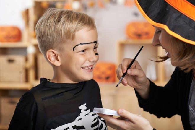 Halloween face paint ideas for kids