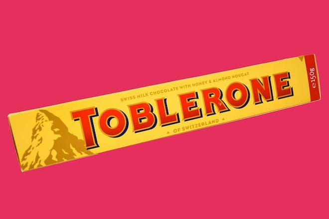 Large Toblerone chocolate