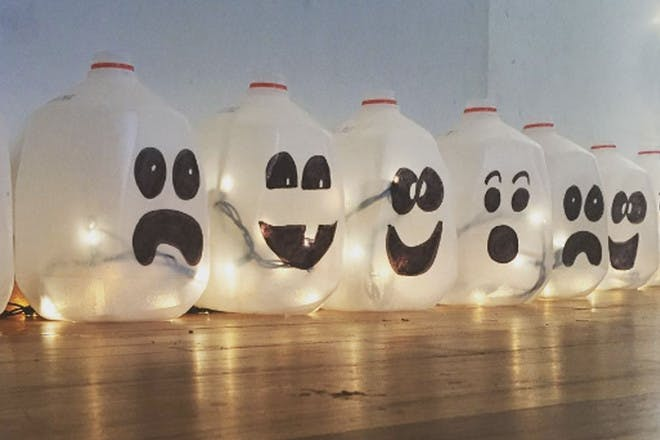 Milk jug ghosts