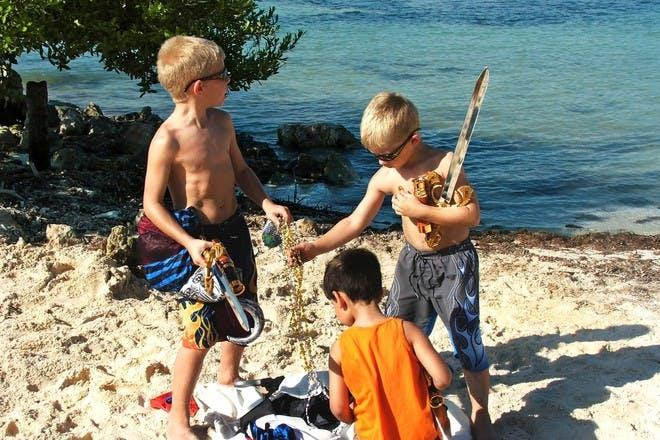 boys on treasure hunt