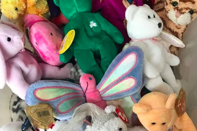 24. Sorting through your Beanie Baby collection