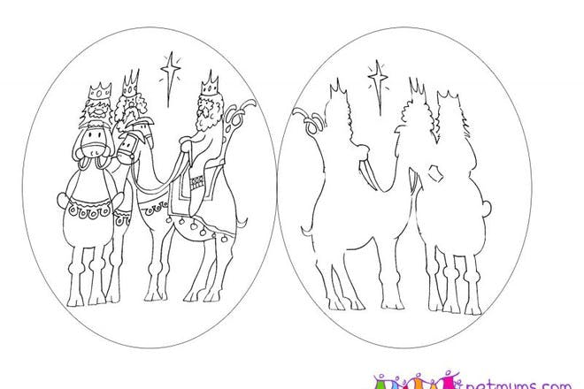 three kings puppets