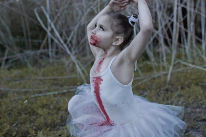 zombie dancer girl