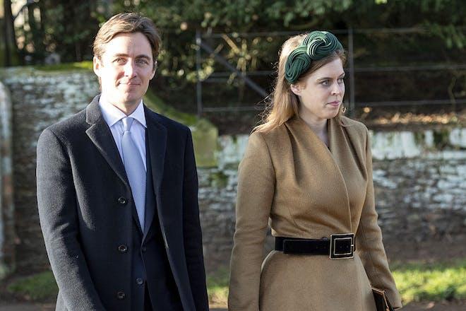 6. Princess Beatrice and Edoardo Mapelli Mozzi