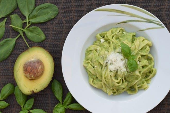 10. Speedy avocado pasta