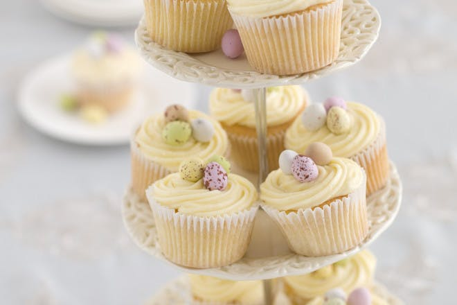 Easter cupcakes with mini eggs recipe
