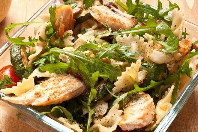 14. Chicken pasta salad