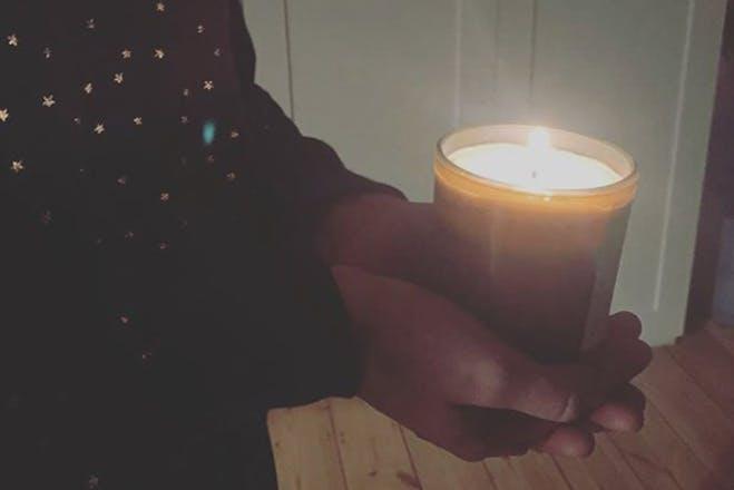 Izzy Judd candle