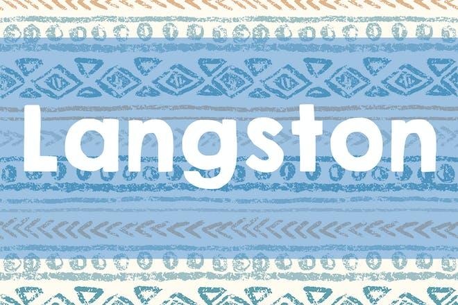 Langston name