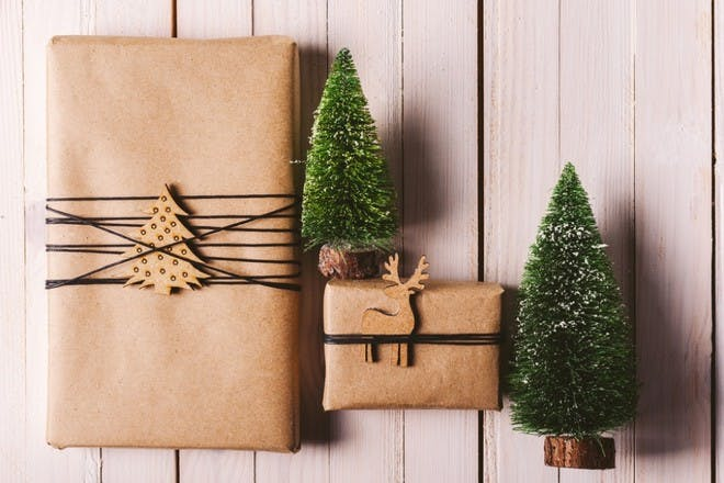 brown paper parcels wrapping