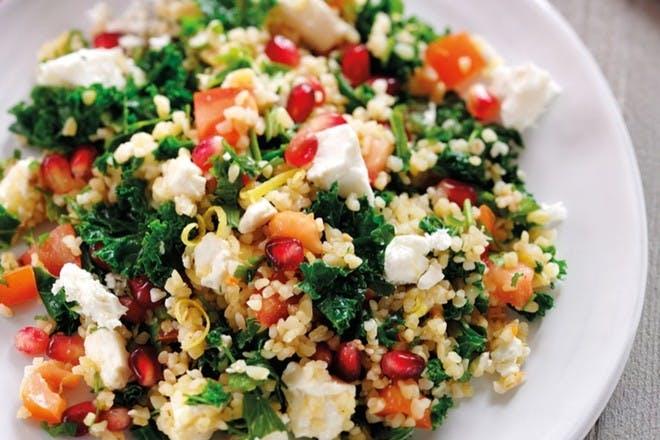 16. Kale and feta tabbouleh