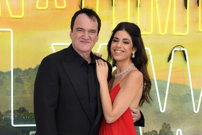 Quentin and Daniella Tarantino