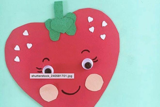 17. Valentine's strawberry!