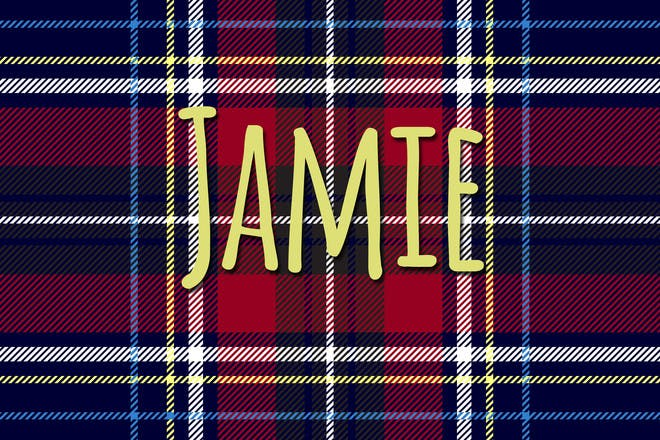Jamie Scottish name