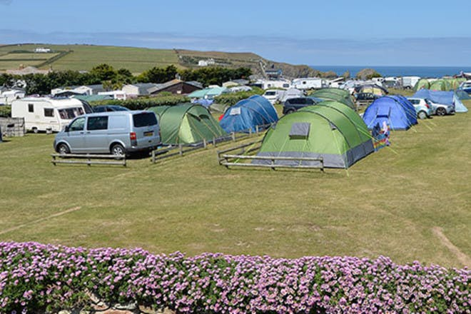 Mother Ivey's Bay campsite