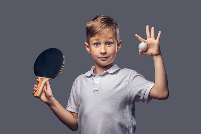27. Ping pong ball catch