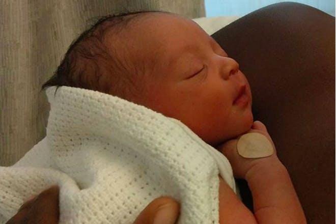 Alesha Dixon baby