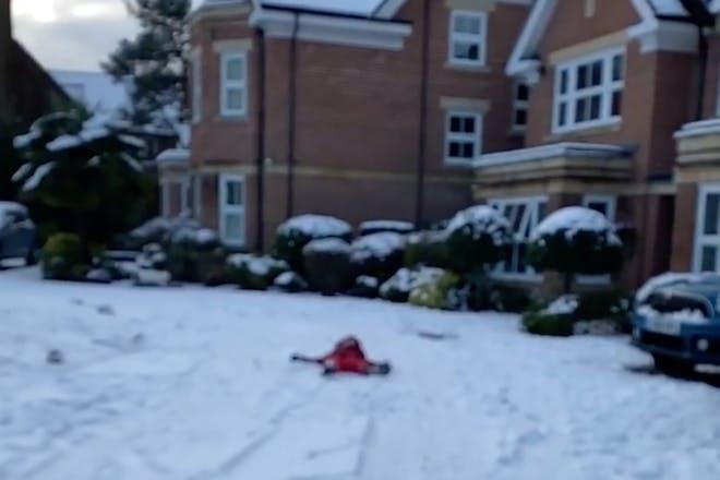 Tom Fletcher snow