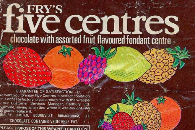 Fry's Five Centres retro sweets